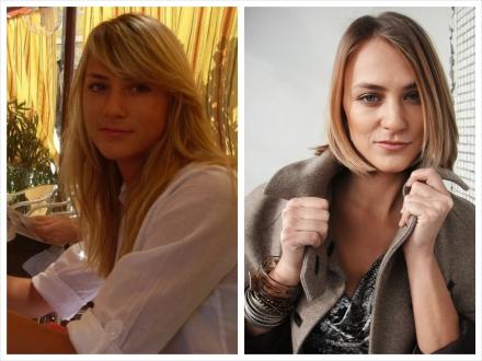 До и после. Олеся