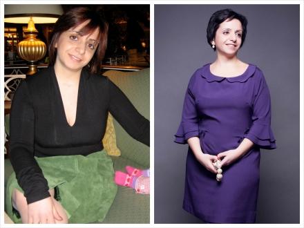 До и после. Нарина