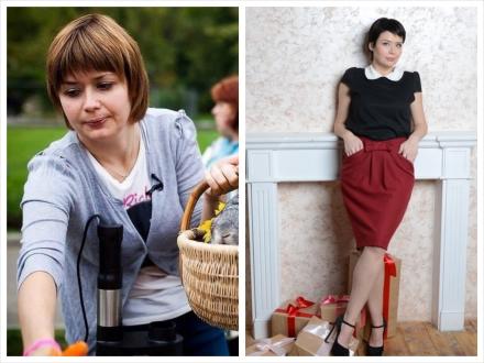 До и после. Людмила