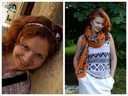 До и после. Юля