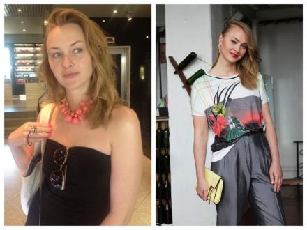 До и после. Лиза