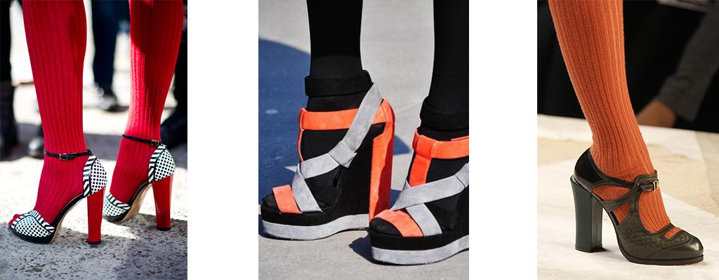 с обувью